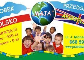 """Dwujęzyczne przedszkole  z grupą żłobkową """"Maja"""""""