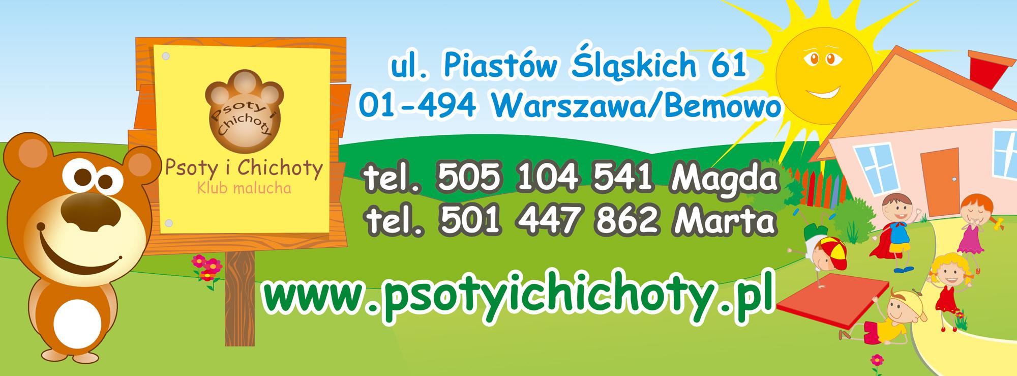 """Klub malucha """"Psoty i chichoty"""""""